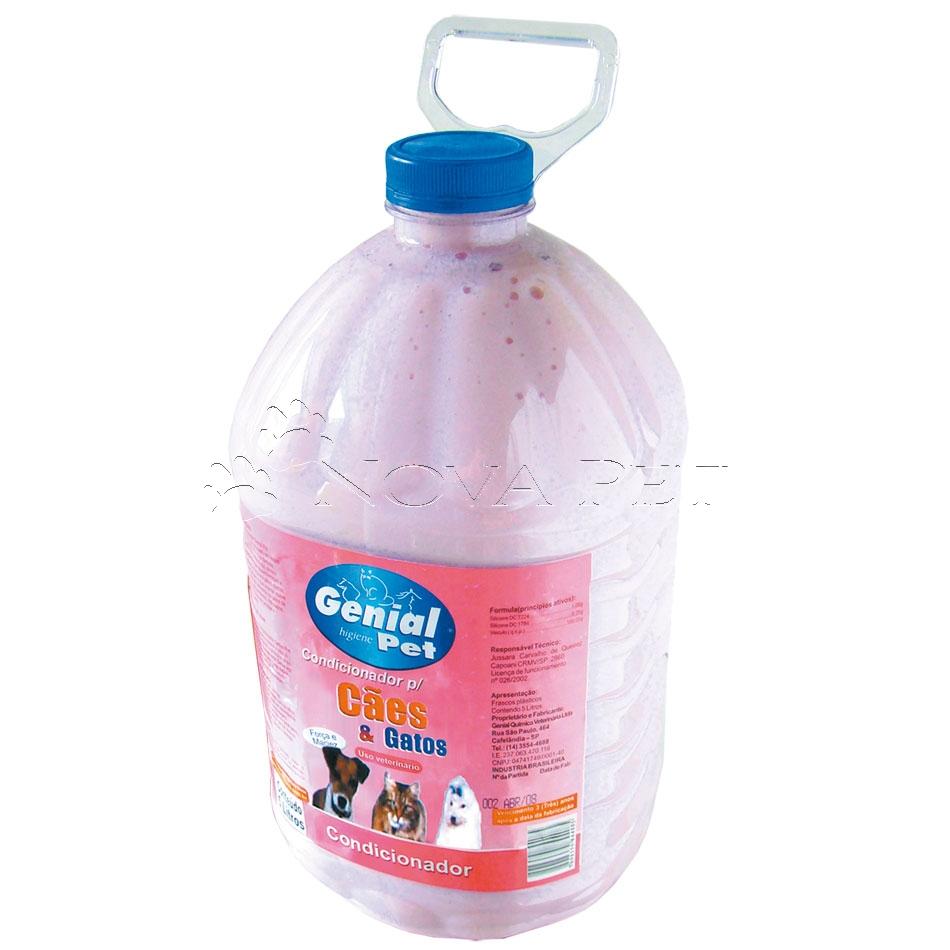 Baby Pads Tapete Higienico : Condicionador – 5 litros – Genial Pet – Distribuidora Nova Pet